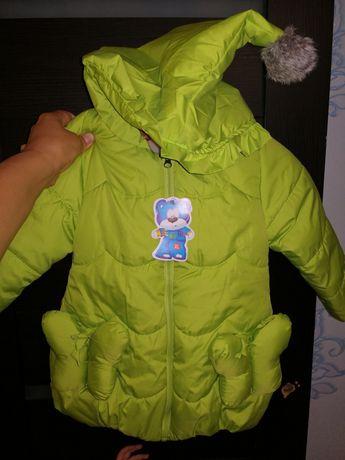 Куртки осенние для девочек двойни
