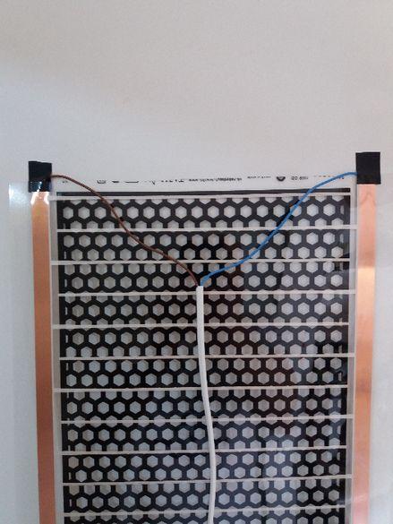 Инфрачервен нагревател за огледало на 12 и 220 волта