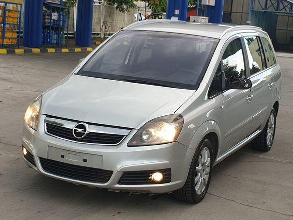 НА ЧАСТИ! Opel Zafira B 1.6i CNG МЕТАН Z16YNG 94 кс. 7 местна