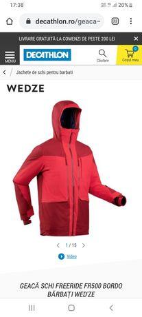 Geaca Ski NOUĂ Freeride Fr500 WED'ZE Recco Referință:8554739 Decathlon