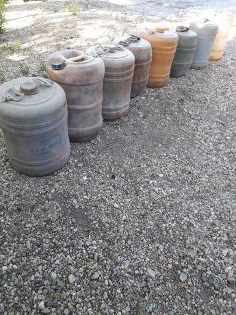 Vand butoaie de plastic, 60 l ptr combustibil