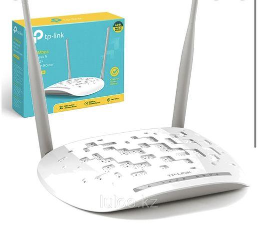 TP-Link N300 Wi-Fi роутер ADSL2+ модем TD-W8961N мегалайн казактелеком