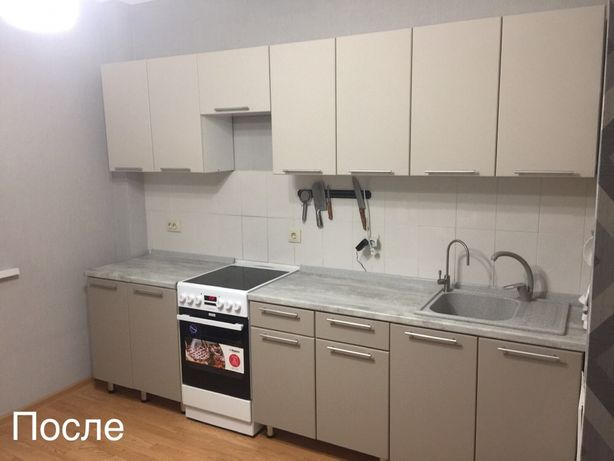 Реставрация кухни, замена фасада, перекраска фасадов, переделка кухни