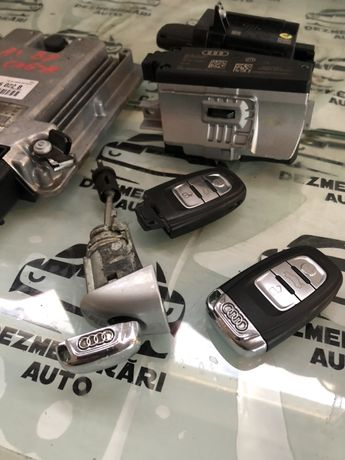 Kit pornire ecu blocator volan cheie iala Audi A4 B8 2,0 TDI CAGA 2010