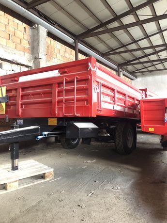 Remorca agricola monoax 2.5/3/5/4 tone