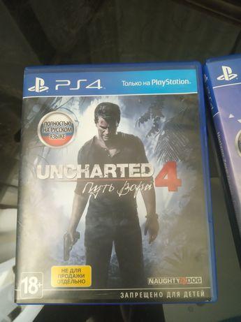 Horizon: Zero dawn; Detroit; Uncharted 4 Игры пс4