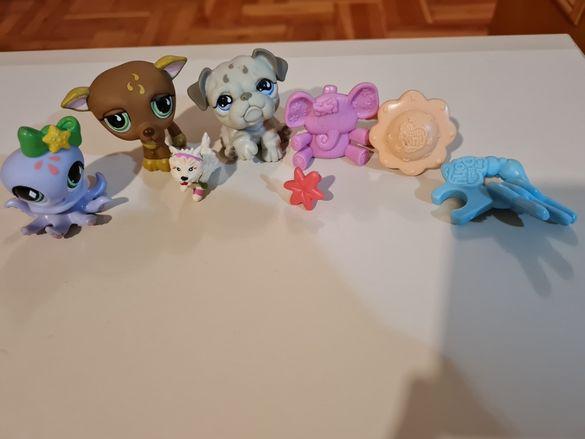 Фигурки - куче, октопод и сърничка