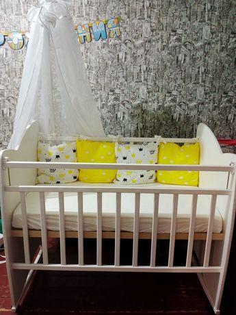 Продам детскую кроватку/манеж