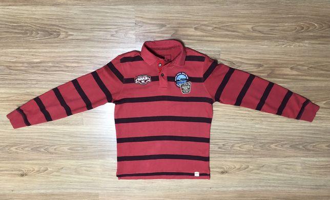 Bluza cu guler polo NAPAPIJRI rosu M barbati tricou pulover