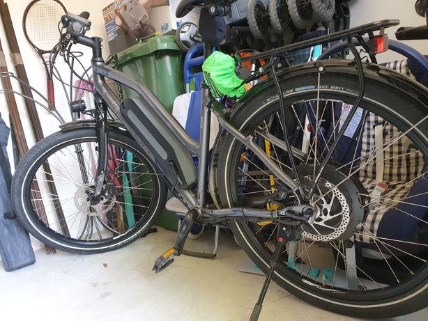 Bicicleta electrica dame TOP Shimano