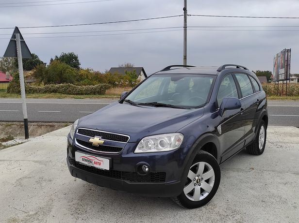Chevrolet Captiva,2.0 diesel,4x4,230.000 km,RATE, import