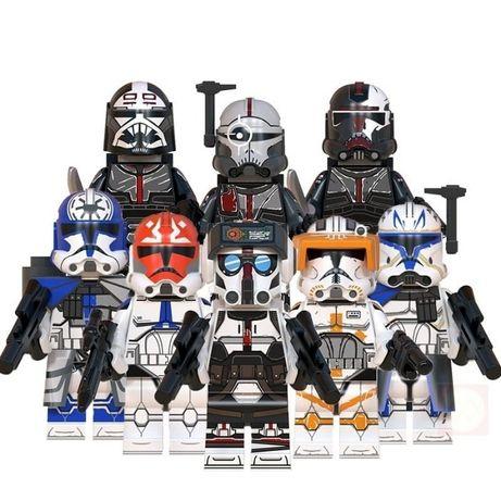 Minifigurine tip Lego Star Wars Ashoka's Clone Troopers Force99