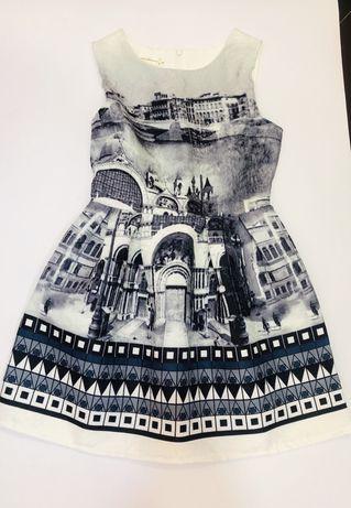 Прелестна Нова рокля 128см
