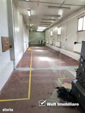 Spatiu industrial si cladire de birouri pentru sediu de firma 2000 mp,
