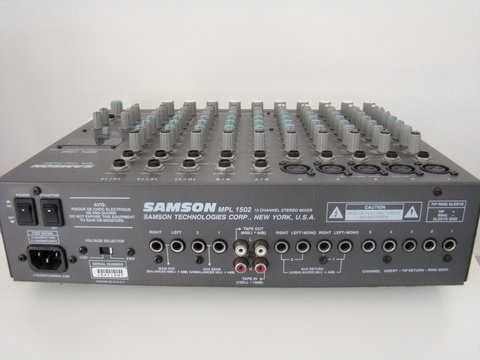 Микшер SAMSON MPL 1502 - 15 каналов