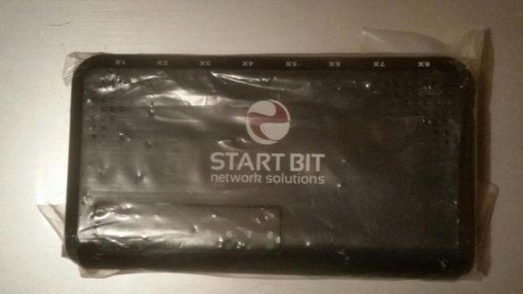 Нови 8 портови суичове/switch StartBit 10/100