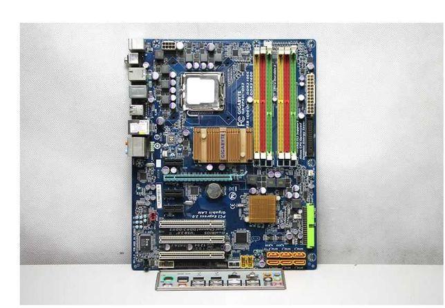 Мат.Плата LGA 775 GIGABYTE GA-EP43C-DS3 4x DDR2, 2x DDR3  Алматы