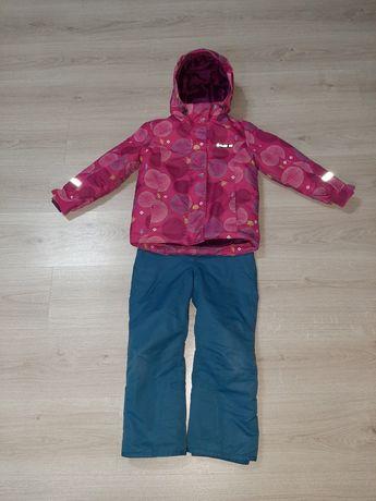 Продам горнолыжный костюм фирмы GlISSADE на девочку ростовка 116-122!