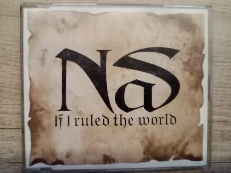 Nas - If I Ruled The World (Imagine That) (CD, Maxi)