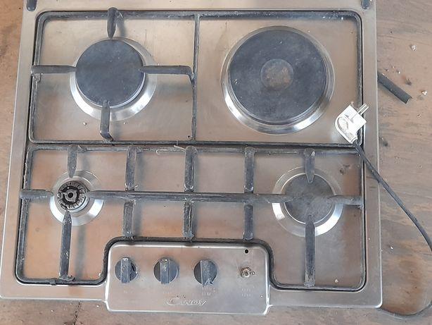 Поверхность газ плиты