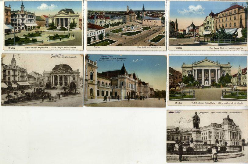 Colectie Carti Postale Vechi cu Oradea Mare -Nagyvárad Vederi CP Bucuresti - imagine 1