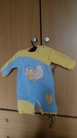Бебешки ватиран гащеризон, за новородено