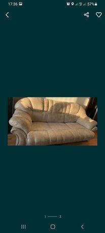 Срочно продам диван кожазам раскладной