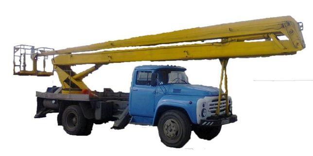 Услуги автовышки 18. 22 м. Услуги японского экскаватора.