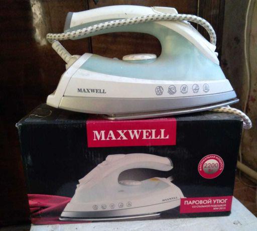 Утюг паровой Maxwell
