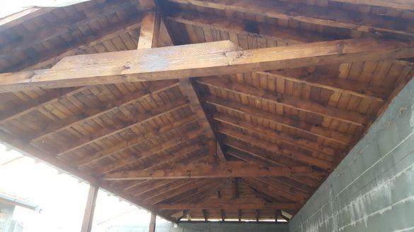Доставка и монтаж на дървена ламперия