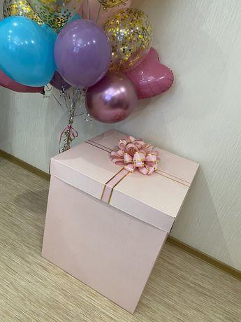 Коробка для шаров и подарков