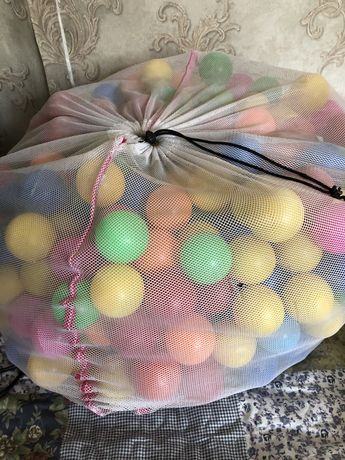Пластиковые шарики для сухого, детского бассейна