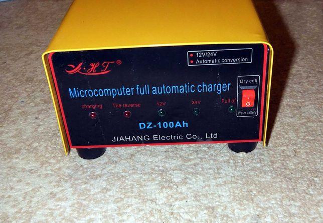 Авто зарядное устройство импульсное  для аккумуляторов 12 и 24 В.