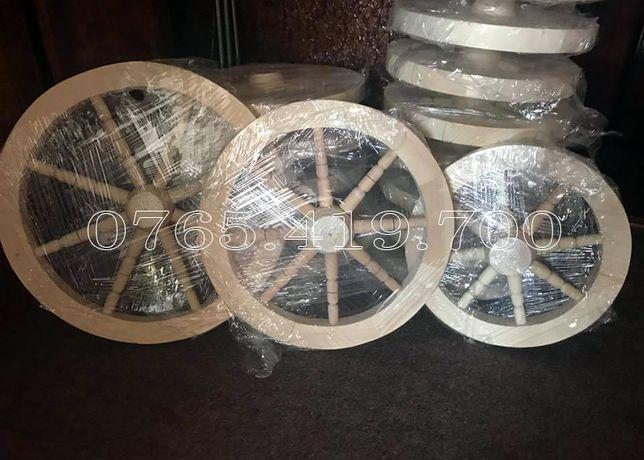 Roti din lemn - roata rustica lemn - natur