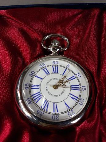 Ceas de buzunar din metal de colecție original