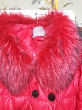 Пуховик-пальто,женское.