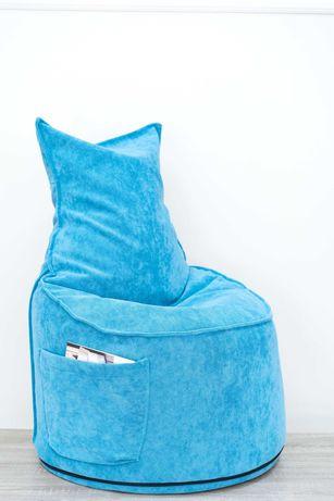 """Пуф кресло """"Макс"""" от висококачествена мебелна дамаска"""