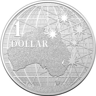 Moneda argint 999 lingou, 1 Dollar Australia 2021, 31 grame