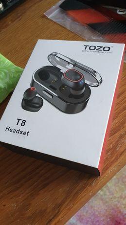 Vand casti Tozo T8 headset wireless (nu schimb cu samsung, iphone, lg)