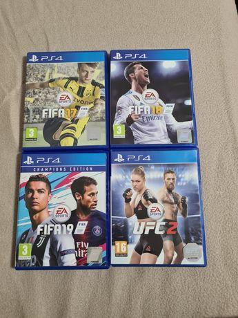 Vând URGENT jocuri PS4