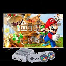 Телевизионна игра Nintendo с джойстици и 620 вградени игри