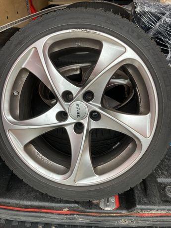 Джанти за Мерцедес със зимни гуми 255 45 r 18