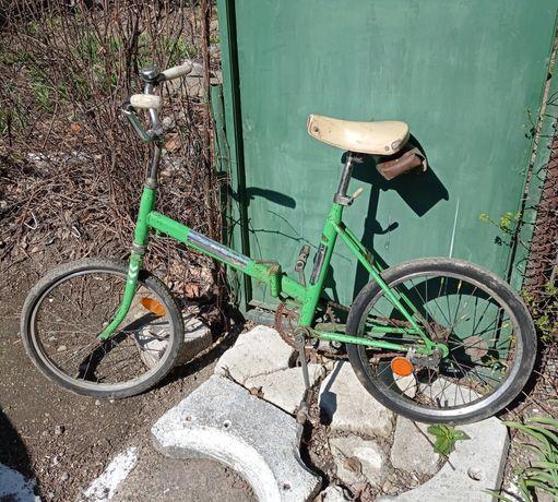 """Vând sau schimb bicicletă""""PEGAS""""din perioada comunismului(pt.reparat)."""