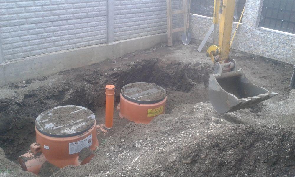 Montaj fose septice, bazine apa, canalizare, sapaturi miniexcavator... Brasov - imagine 1