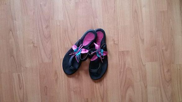 Дамски чехли- естествена кожа