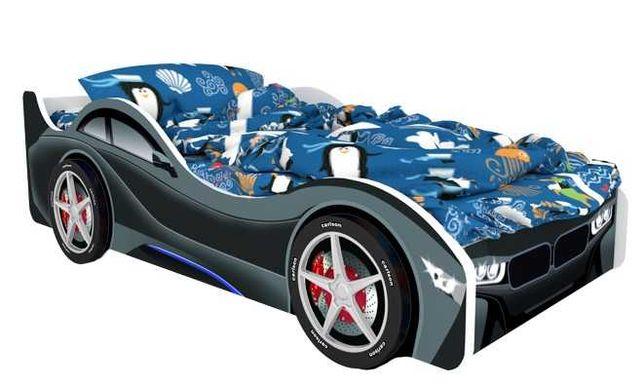 Детская кроватка машинка серия город