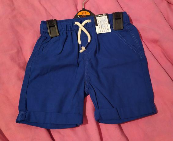 Нови къси панталони George, 2-3 год. (98 см.)