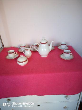 Serviciu vintage cafea Epiag Cehoslovacia