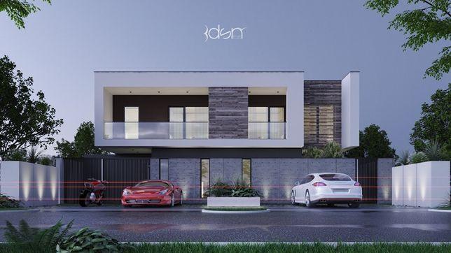 Duplex minimalist cu priveliste asupra padurii din Dumbravita