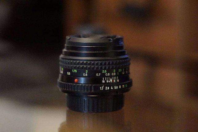 Obiectiv Minolta MD Rokkor 50mm 1:1.7